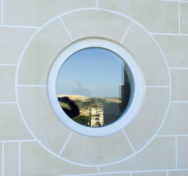 window round