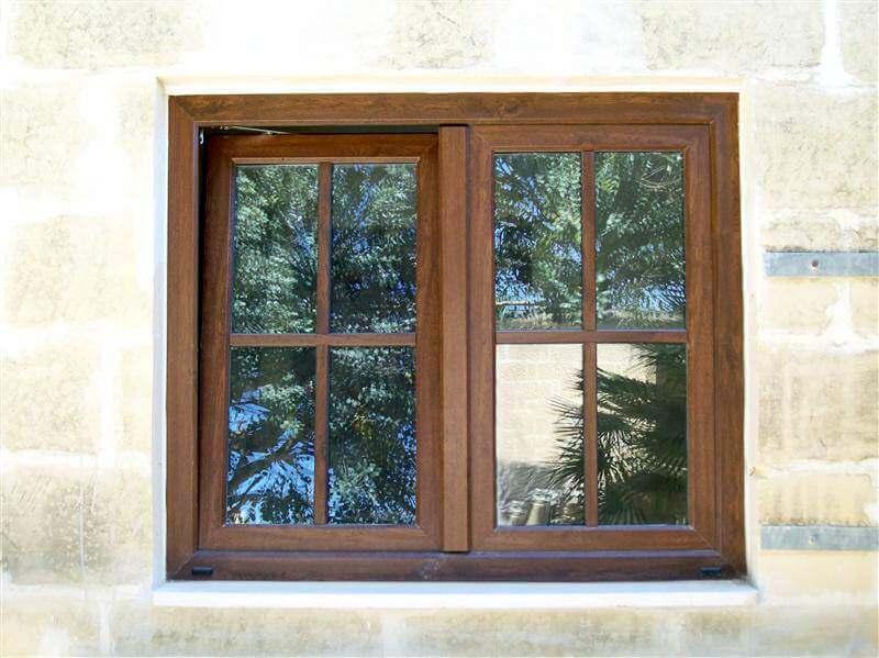 window brown